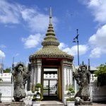 Fotos de Bangkok, Wat Pho guardianes
