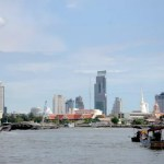 Fotos de Bangkok en Tailandia, paseo en barca Chao Phraya