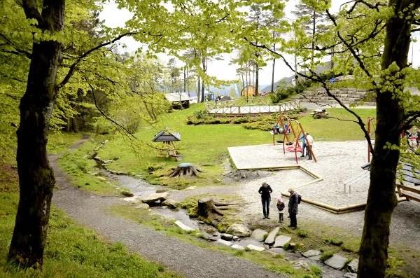 Fotos de Bergen, Monte Floyen zona recreativa