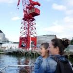 Fotos de Bilbao, Oriol y Vero grua La Carola
