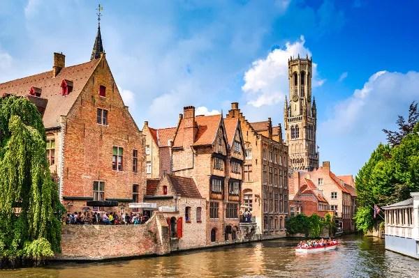 Fotos de Brujas en Flandes, canales