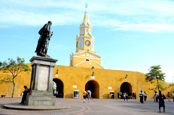 Fotos de Cartagena de Indias, Puerta del Reloj