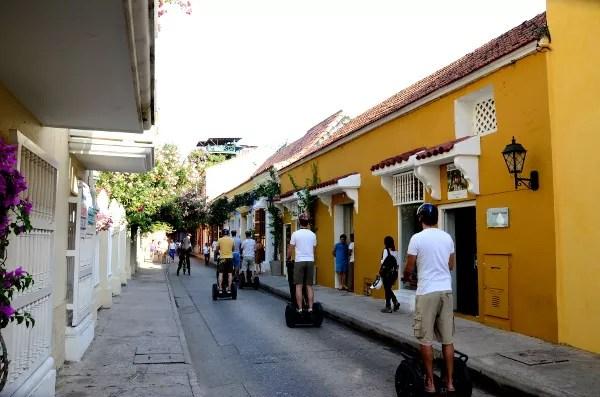 Fotos de Cartagena de Indias, segway