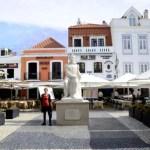 Fotos de Cascais en Portugal, Plaza Camoes