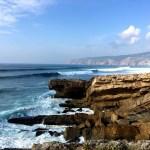 Fotos de Cascais en Portugal, olas del Atlantico