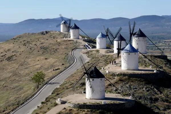 Fotos de Castilla La Mancha, Molinos de Consuegra