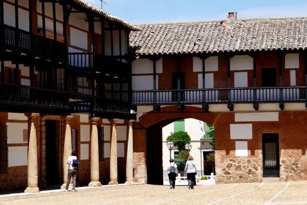 Fotos de Castilla La Mancha, Plaza Mayor San Carlos del Valle