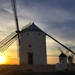 Fotos de Castilla La Mancha, atardecer molinos Consuegra