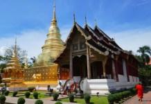 Fotos de Chiang Mai en Tailandia, Pau en Wat Phra Singh