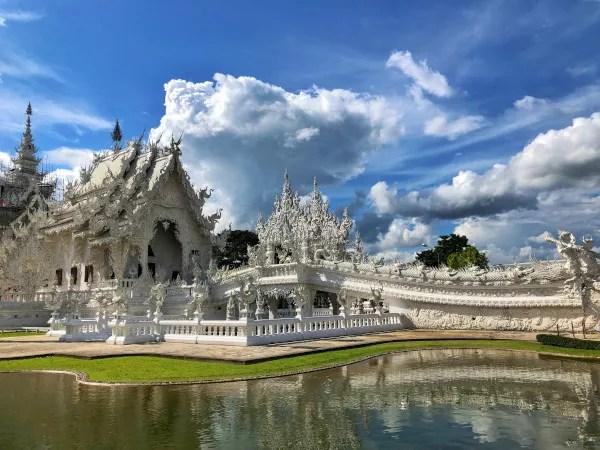 Fotos de Chiang Rai en Tailandia, Templo Blanco