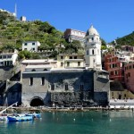 Fotos de Cinque Terre en Italia, Vernazza desde el mar