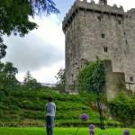 Fotos de Cork en Irlanda, Teo en el Blarnet Castle