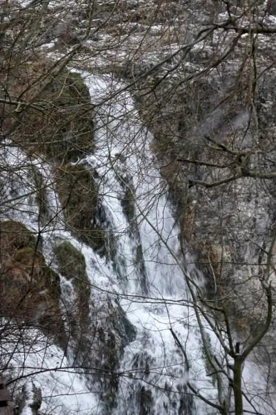 Fotos de Cuenca, cascada del Molino de la Chorrera