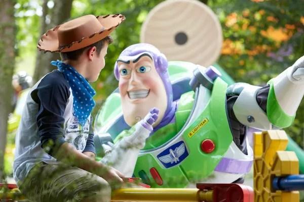 Fotos de Disneyland Paris, Buzz Lightyear