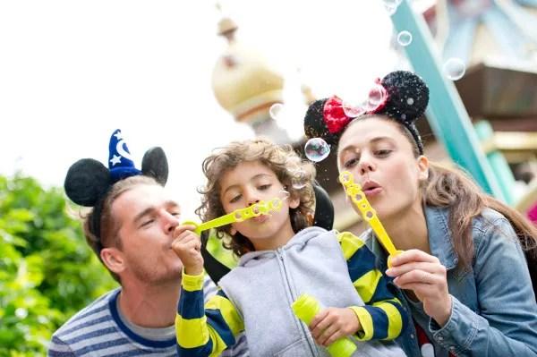 Fotos de Disneyland Paris, familia
