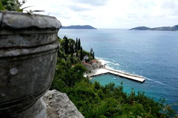 Fotos de Dubrovnik en Croacia, cala Trsteno Arboretum