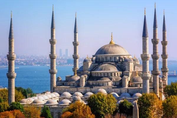 Fotos de Estambul en Turquía, Mezquita Azul