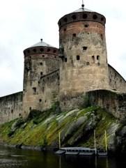 Fotos de Finlandia, castillo de Savonlinna