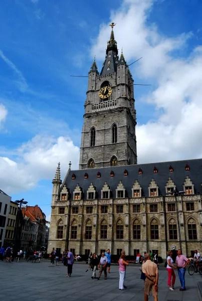 Fotos de Gante en Flandes, Belfort