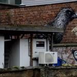 Fotos de Gante, ruta street art Bue the warrior y Roa