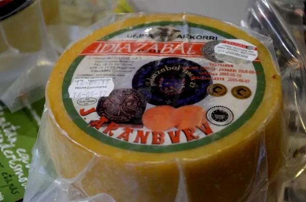 Fotos de Goierri, queso Idiazabal