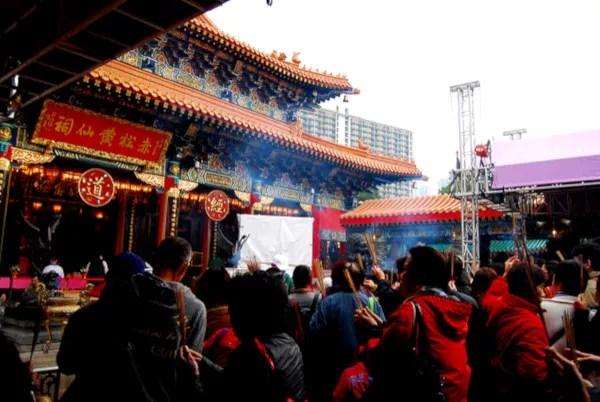 Fotos de Hong Kong, Wong Tai Sin Temple en Kowloon