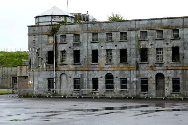 Fotos de Irlanda, celdas Isla de Spike