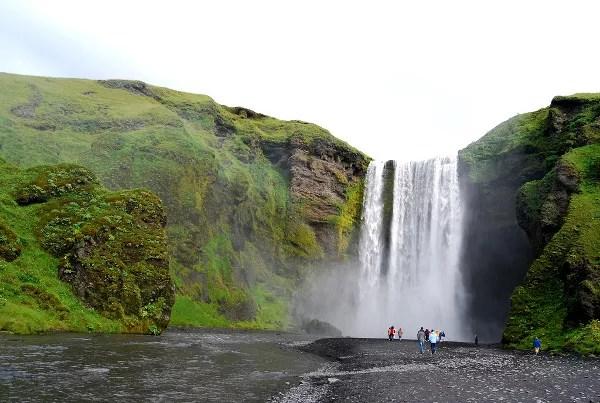 Fotos de Islandia, Skogafoss