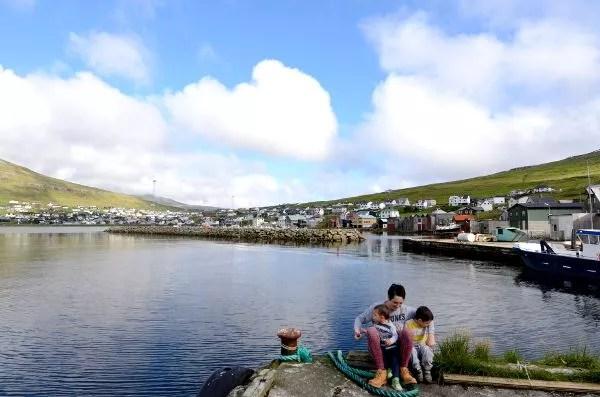 Fotos de Islas Feroe, Teo, Vero y Oriol en Sørvágur