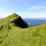 Fotos de Islas Feroe. Mykines, cumbre verde