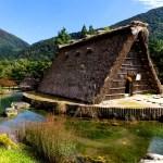 Fotos de Japón, casa tradicional Shirakawa-go