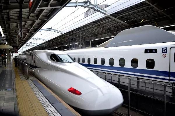 Fotos de Japón, shinkansen o trenes bala