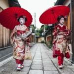 Fotos de Kioto en Japon, maiko y geisha en Gion