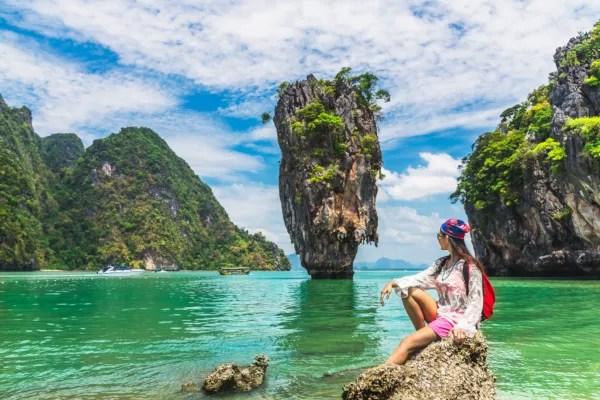 Fotos de Krabi en Tailandia, James Bond Island