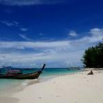 Fotos de Krabi en Tailandia, barcos en Poda Island