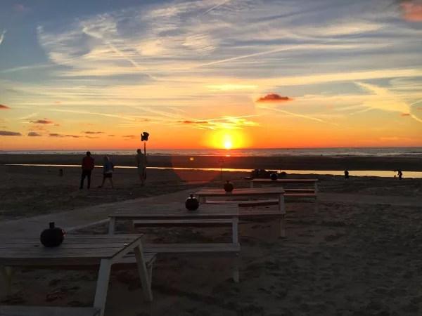 Fotos de La Haya, atardecer playas de Kijkduin
