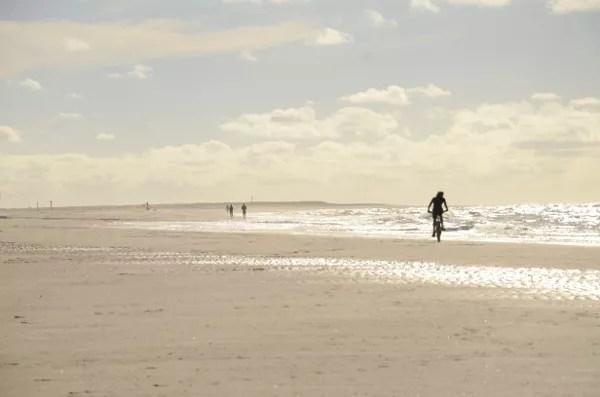 Fotos de La Haya, bicicleta playas de Kijkduin
