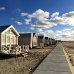 Fotos de La Haya, fila de casitas playas de Kijkduin