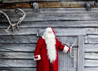 Fotos de Laponia Finlandesa, Papá Noel
