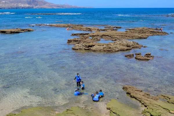 Kayak y snorkel en las palmas de gran canaria el pachinko for Cristalerias en las palmas de gran canaria
