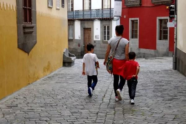 Fotos de Las Palmas de Gran Canaria, Vero, Teo y Oriol Vegueta
