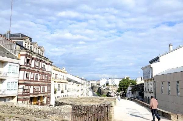 Fotos de Lugo, Muralla romana