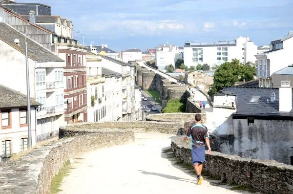 Fotos de Lugo, paseando por la Muralla Romana