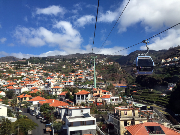 Fotos de Madeira, Funchal desde el teleferico