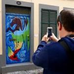 Fotos de Madeira, Puertas pintadas de Funchal