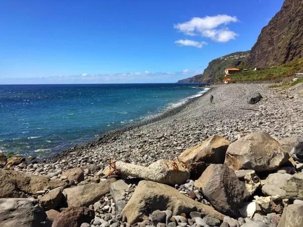 Fotos de Madeira, playa de Faja dos Padres