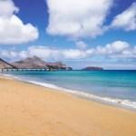 Fotos de Madeira, playa de Porto Santo