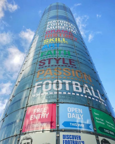 Fotos de Manchester, Museo Nacional del Futbol