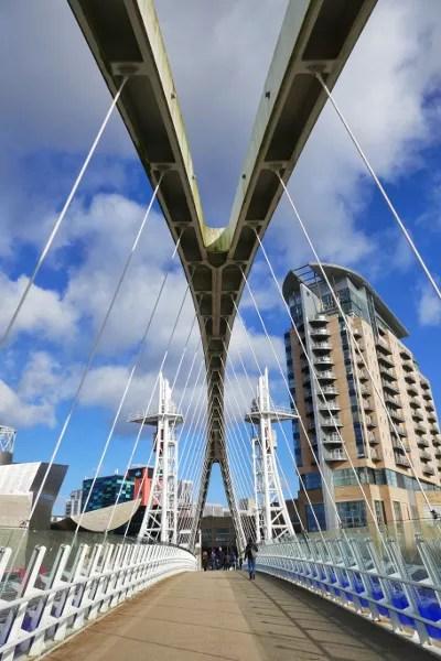 Fotos de Manchester, Puente del Milenio