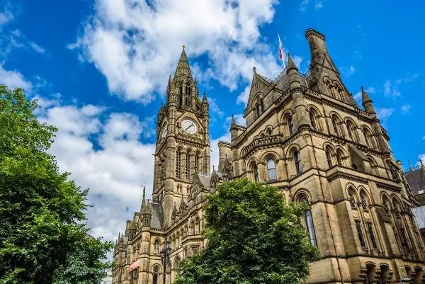 Fotos de Manchester, Town Hall